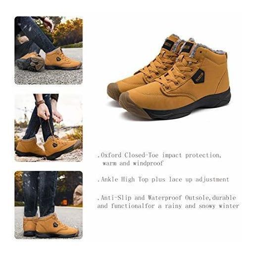 Botas De Nieve Goupsky Para Hombres Zapatos De Invierno Lige