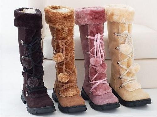 botas de nieve largas (por encargue)