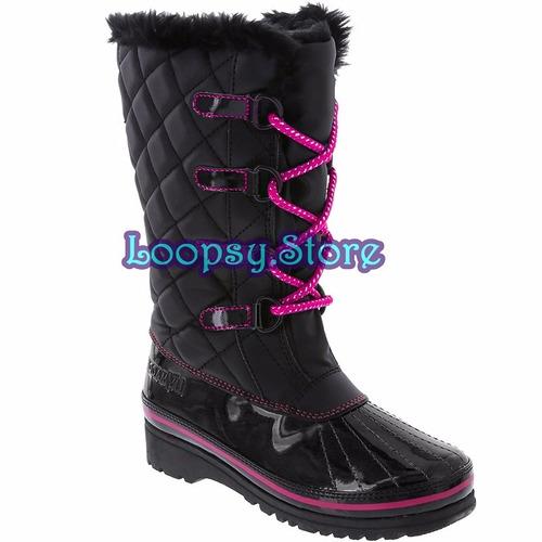 botas de nieve us7 apreski mujer 37/38 - 24cm