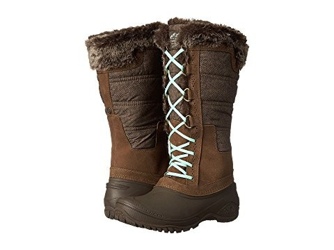botas north face mujer negras