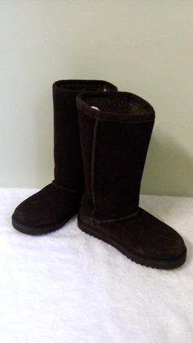 botas de niña piel de gamuza num 19 mex envio gratis dhl