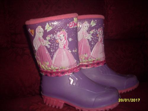 botas de niñas de lluvia