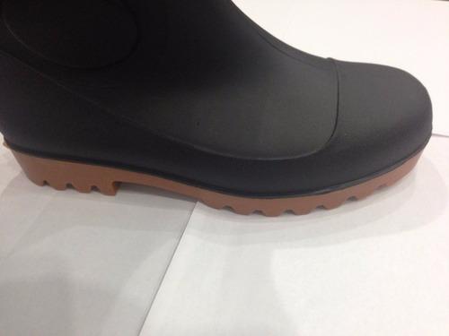 botas de pvc con puntera y plantilla de acero muy comoda
