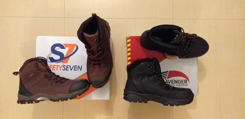 botas de seguridad avenger, red weng  . nueva