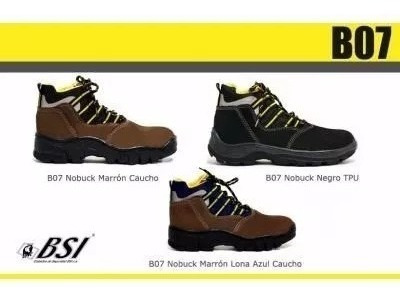 botas de seguridad bsi modelo b07