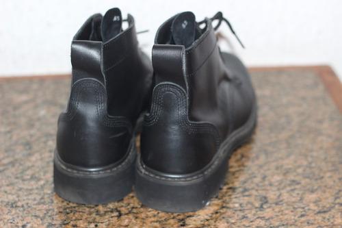 botas de seguridad de cuero
