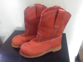 5ff84bfcf Bota Media Ca A Cuero Napa - Zapatos Hombre Botas en Mercado Libre ...