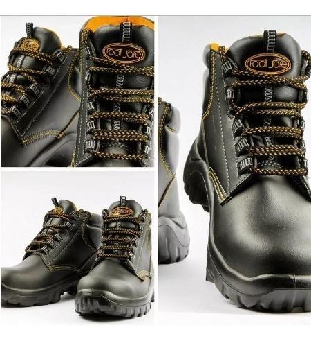 botas de seguridad foot safe supervisor tipo botin t/tallas