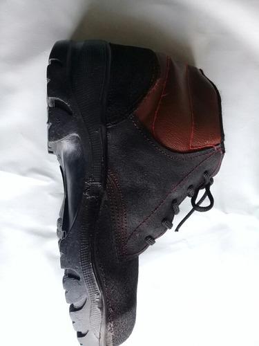 botas de seguridad industrial punta de hierro obrero