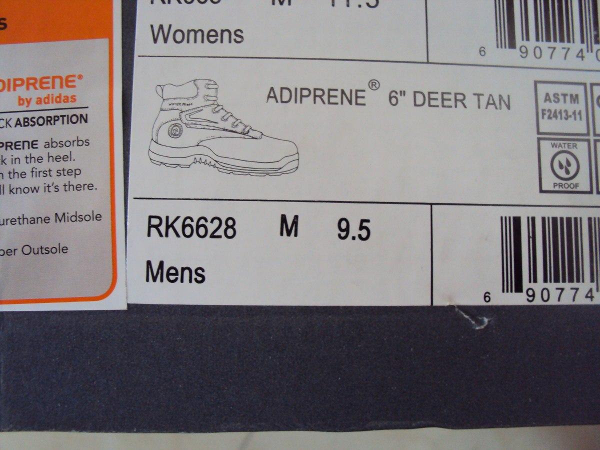 diente Renacimiento Gracias  Botas De Seguridad Marca Rockport Adiprene By adidas - Bs. 0,30 en Mercado  Libre