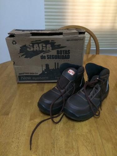 botas de seguridad marca saga