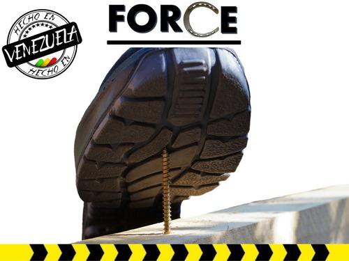 botas de seguridad mod media caña (somos fabricantes)