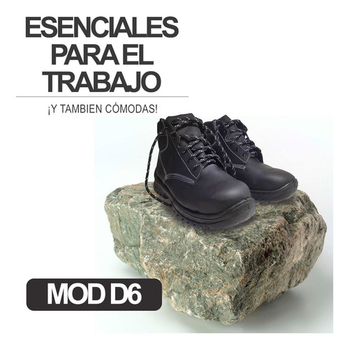 botas de seguridad  modelo d6 (somos fabrica)