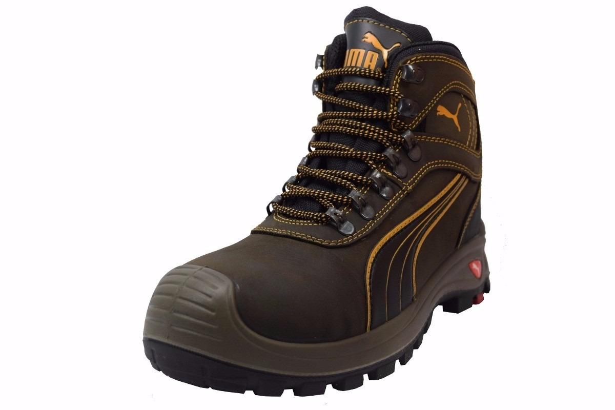 Zapatos industriales puma for Botas de seguridad s3