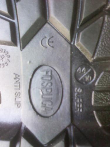 botas de seguridad punta de hierro