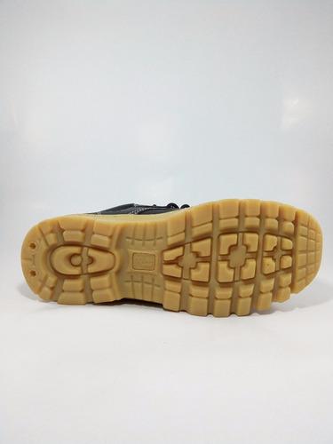 botas de seguridad  punta de jebe dielectrico