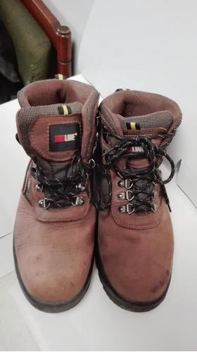 botas de seguridad redline punta de acero talla 40 usadas