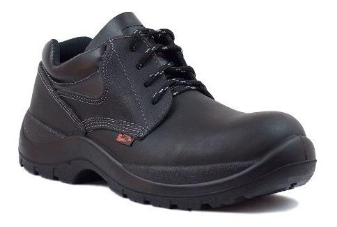 botas de seguridad saga 1010 mod. obrero zapato negro