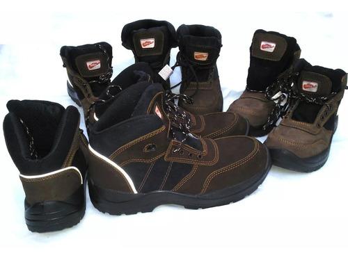 botas de seguridad saga 4057 mod. supervisor botín marrón