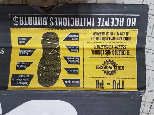 botas de seguridad steel worker