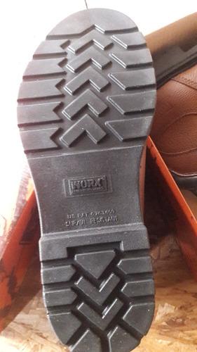 botas de seguridad worx by red wing mod 5445 punta  de acero