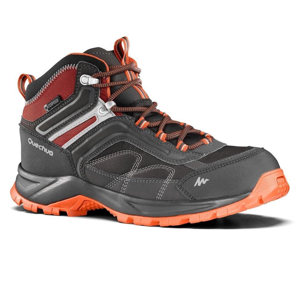 c83587e0ae6 botas de senderismo montaña hombre mh100 mid impermeables. Cargando zoom.