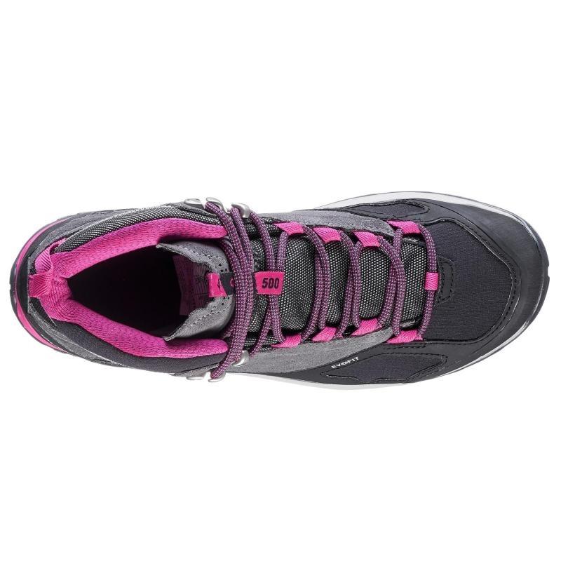 5cd4f37aaf6 botas de senderismo montaña mujer mh500 mid impermeable. Cargando zoom.