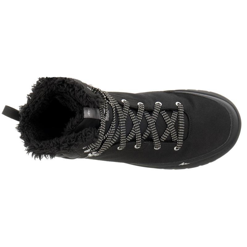 59abcea8d6 botas de senderismo nieve hombre sh100 warm high negro. Cargando zoom.