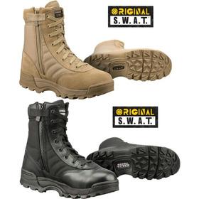 Botas Deportes Original Swat Negra Y Ocre