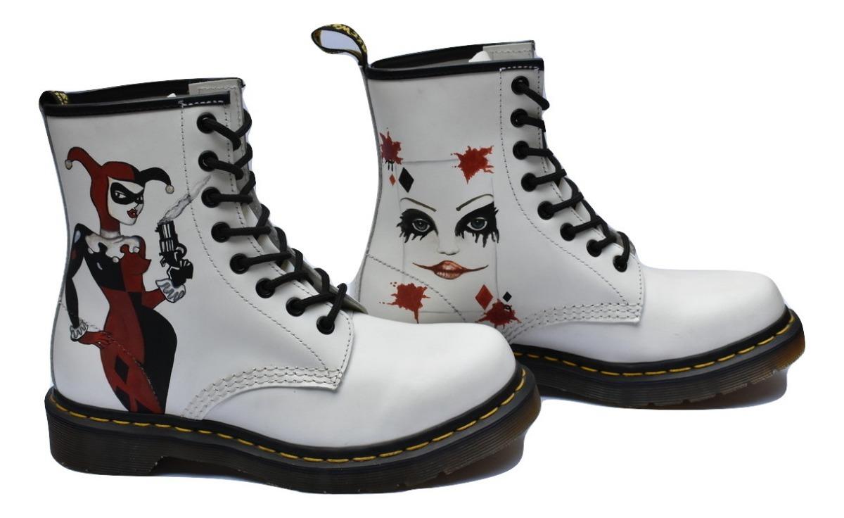 f72ca00652d botas dr martens blancas white harley quinn mujer fabiuluzz. Cargando zoom.