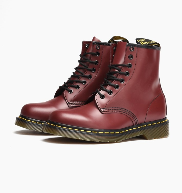 04c1686b62bd6 Botas Dr Martens Mujer Cherry Red Smooth 1460 Look Trendy ...