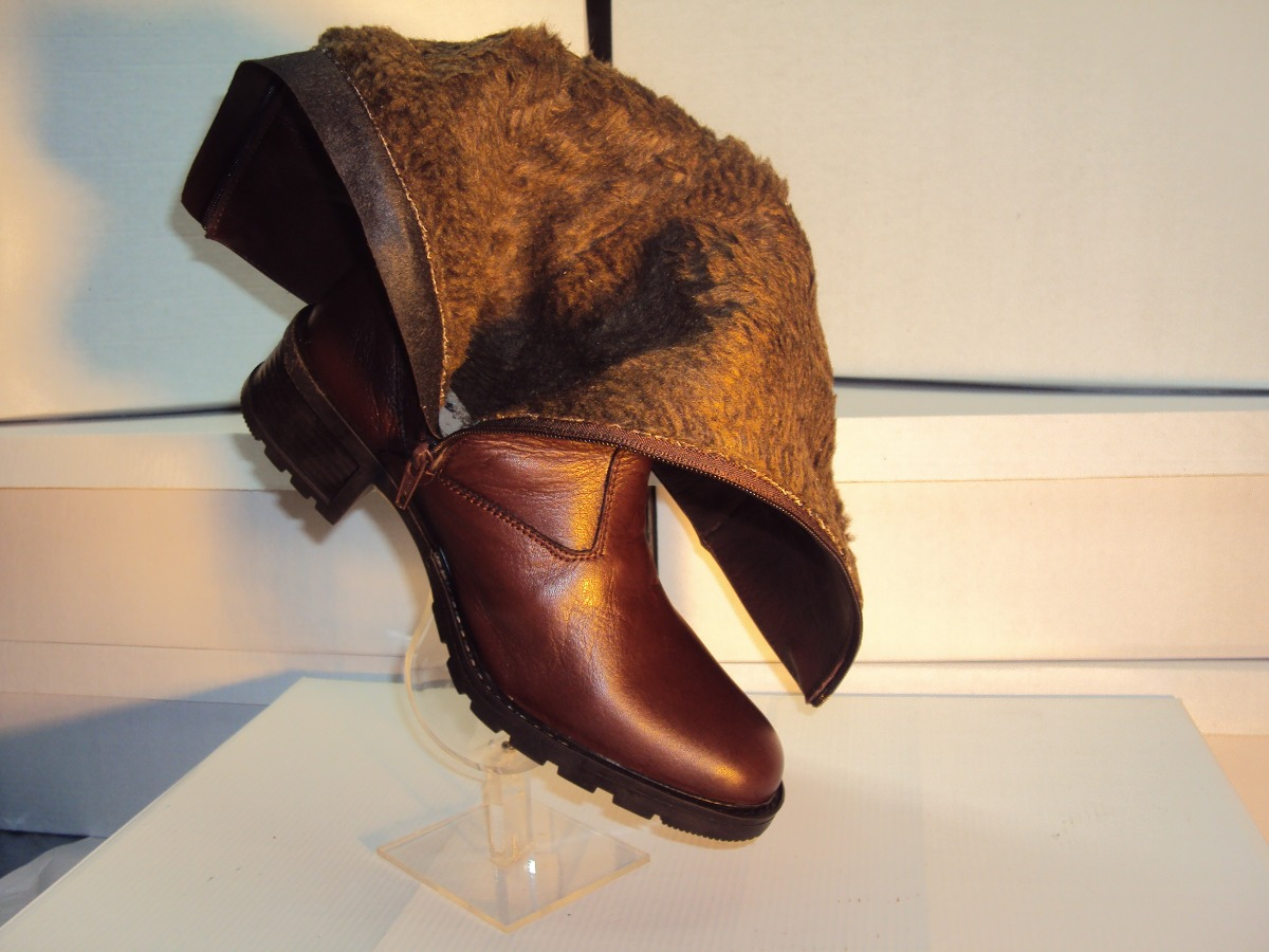 03874a5fd botas em couro floter forro em lã de carneiro. Carregando zoom.