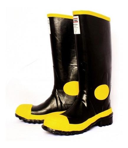 botas en caucho impermeables con puntera de acero seguridad