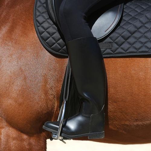 botas equitación schooling negro originales fouganza origina