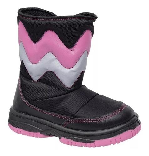 botas escolar niña impermeable nieve moda plumitas