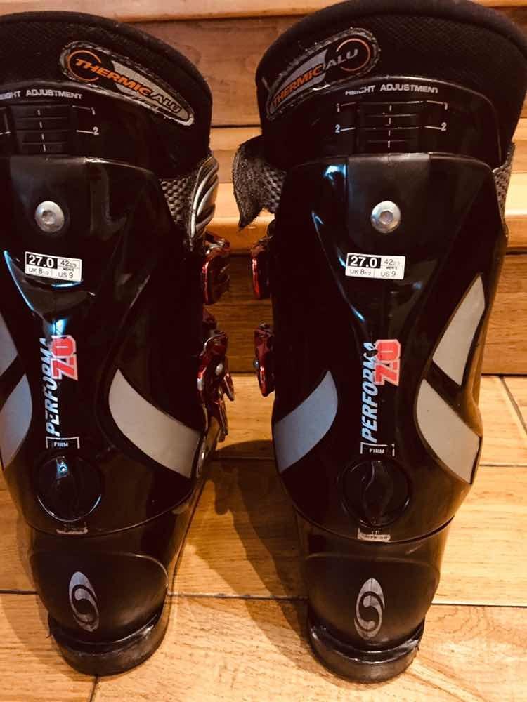 Botas Esqui Salomon Performa 7.0 Talla Us9 Uk8 12 $ 100.000