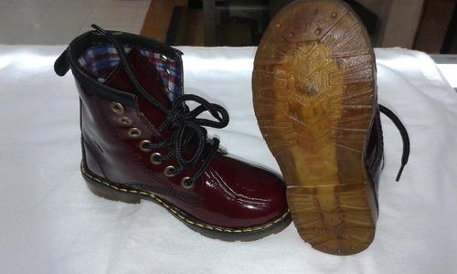 botas estilo dr. marten´s para niños y  niñas nacionales