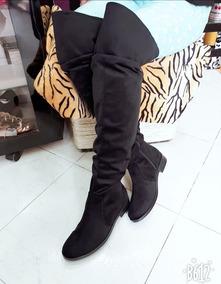 la mejor actitud a49ef 81c9a Botas Extralargas A La Moda Para Dama Elegantes Calzado