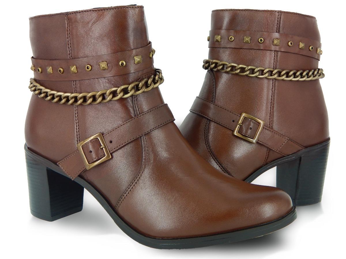 8e2f60c4e botas femininas cano curto em couro legítimo coleção nova. Carregando zoom.