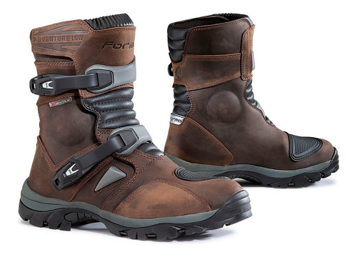 botas forma adventure low café - adventure riding  -