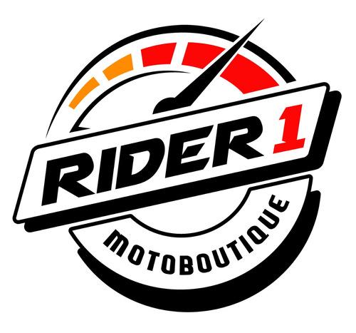 botas forma nero para motociclista rider one