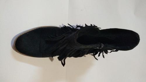 botas gamuza simil cuero