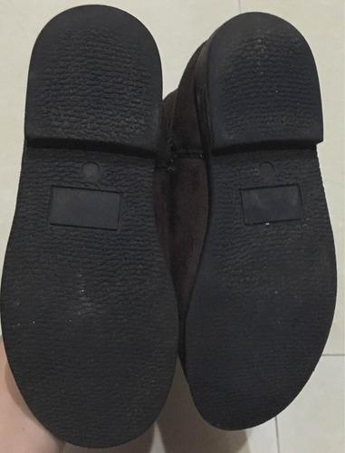 botas gymboree  de niña talla 30 (10verdes)