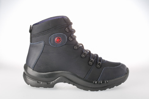 botas hidrofugado lona  hombre deportiva impermeable - negro