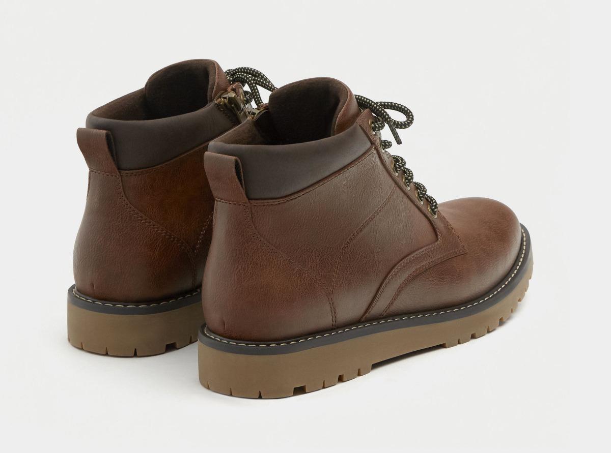 eaa2b6de02 Cargando zoom... pull bear borcegos zapatos botas hombre eco cuero  zapatillas