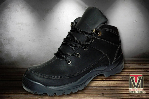 botas hombre timber strong color negro deportivas caminata