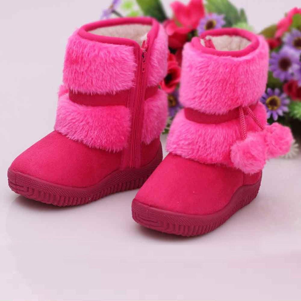 botas hot pink suaves niña baby toddler newborn 2 a 6 años. Cargando zoom. f88315c81d72a