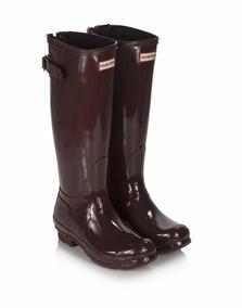 a2b6de56f Hunter Original Gloss Short Negras - Calçados, Roupas e Bolsas com o  Melhores Preços no Mercado Livre Brasil