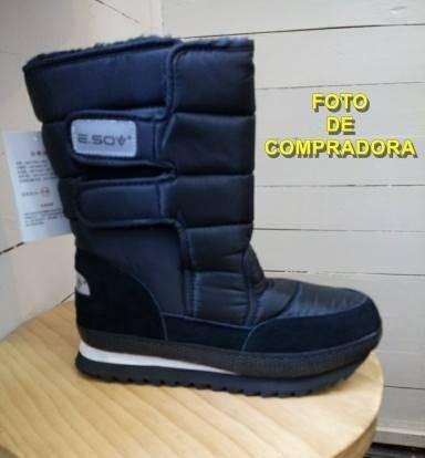 botas ideal para invierno muy abrigada -negro |por encargue|