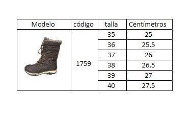 botas impermeables  mujer  el invierno frio con chiporro